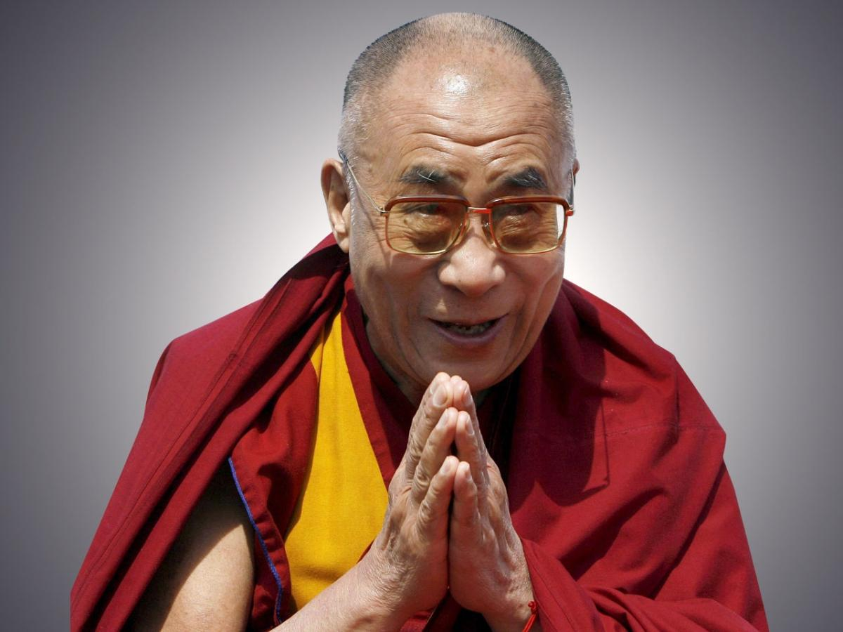 Dalai Lama Visits Los Angeles