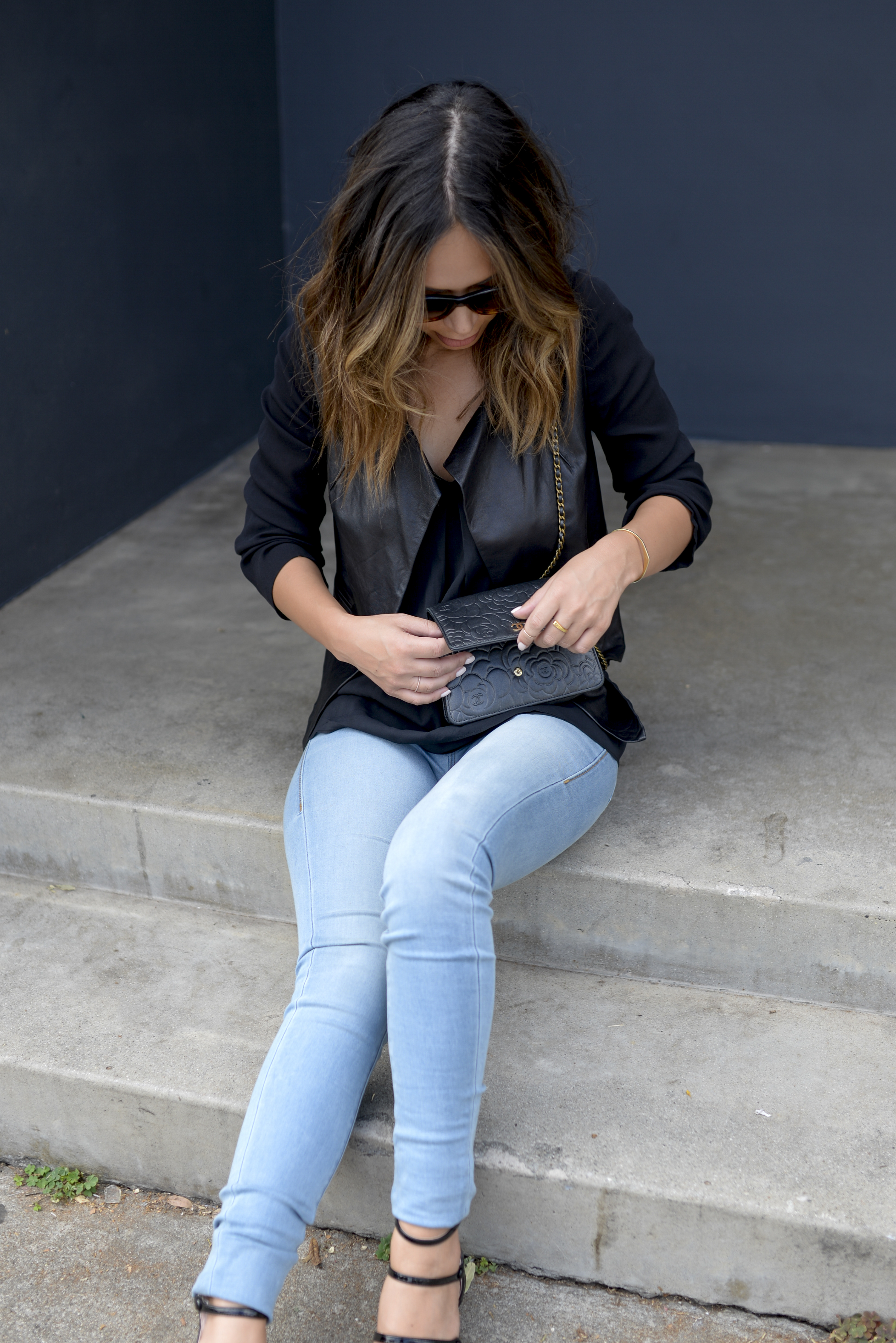 84ccc1cf79 How to Style Light Wash Denim - Life With Me