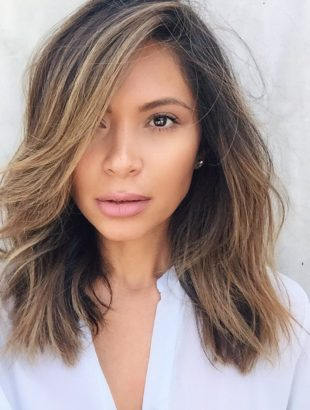 Lob Hair Cut & Color