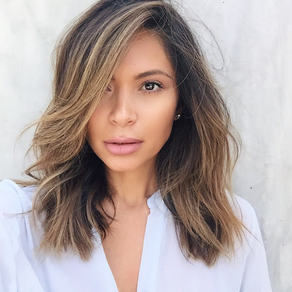Lob Hair Cut Amp Color Life With Me By Marianna Hewitt