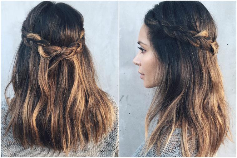 crown braid tutorial marianna hewitt hair