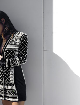 H&M x Balmain Pearl Jacket
