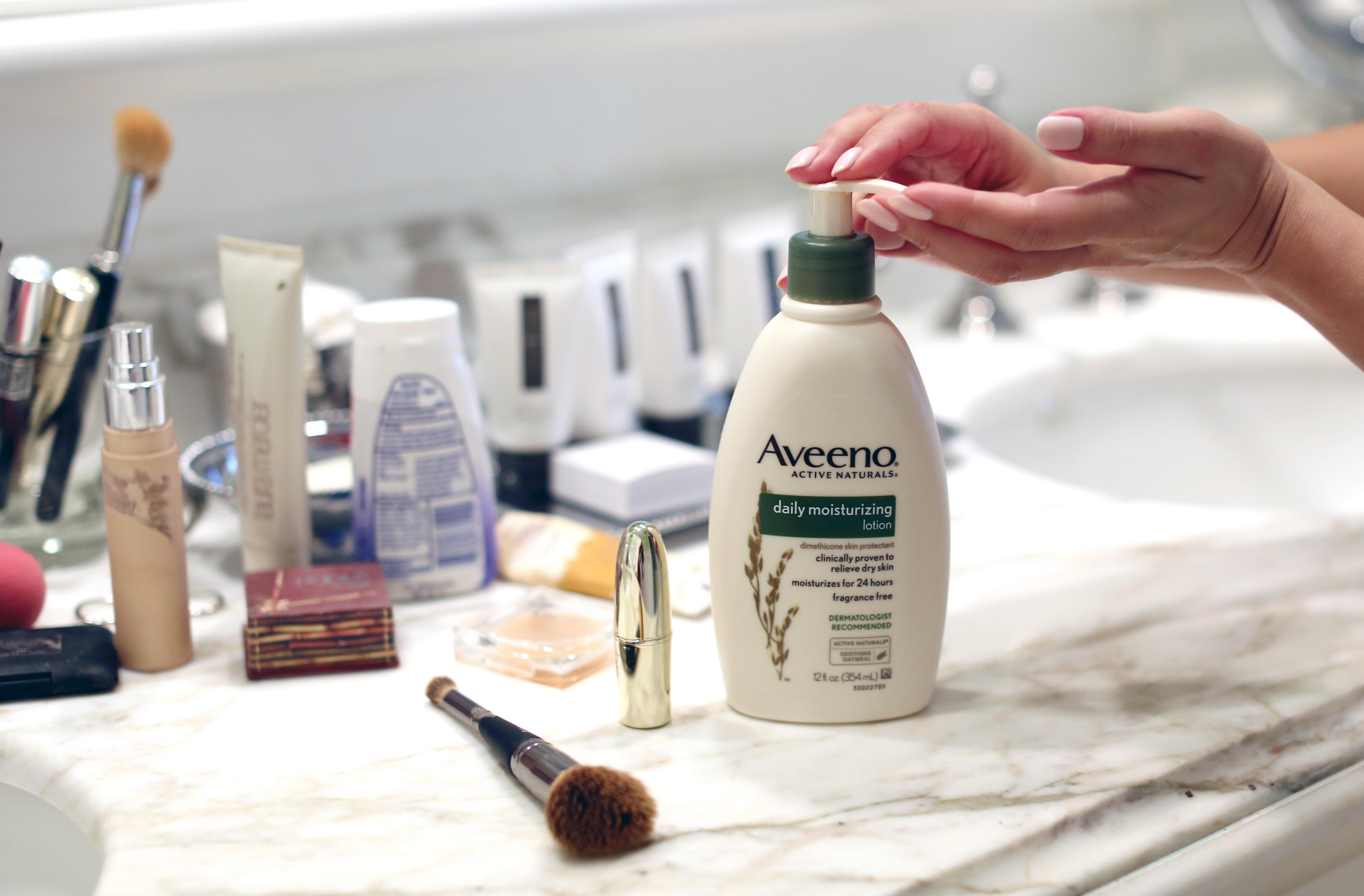 Aveeno Skincare Challenge Update - Life With Me by Marianna Hewitt
