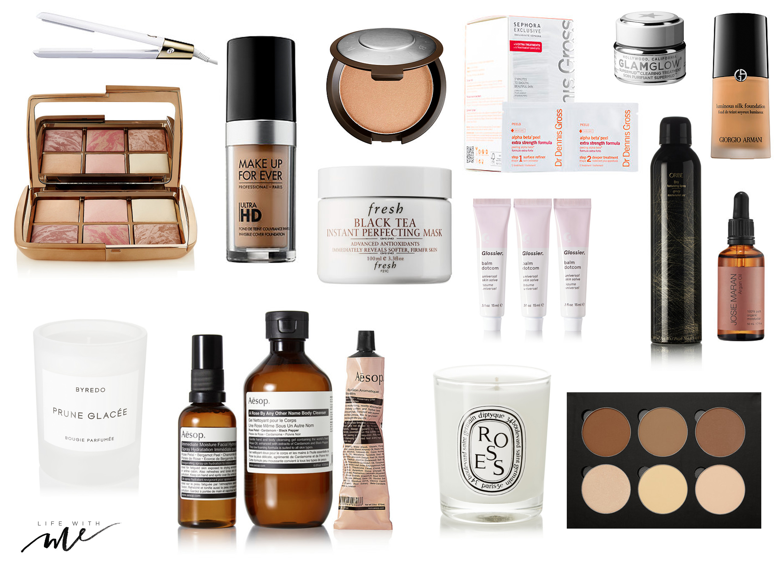 marianna hewitt holiday gift guide beauty products