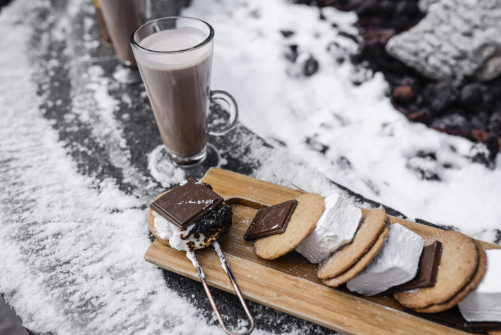 Snowy S'mores