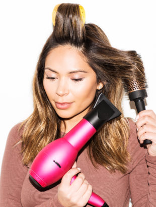 How to Give Yourself a Voluminous Blow-Out