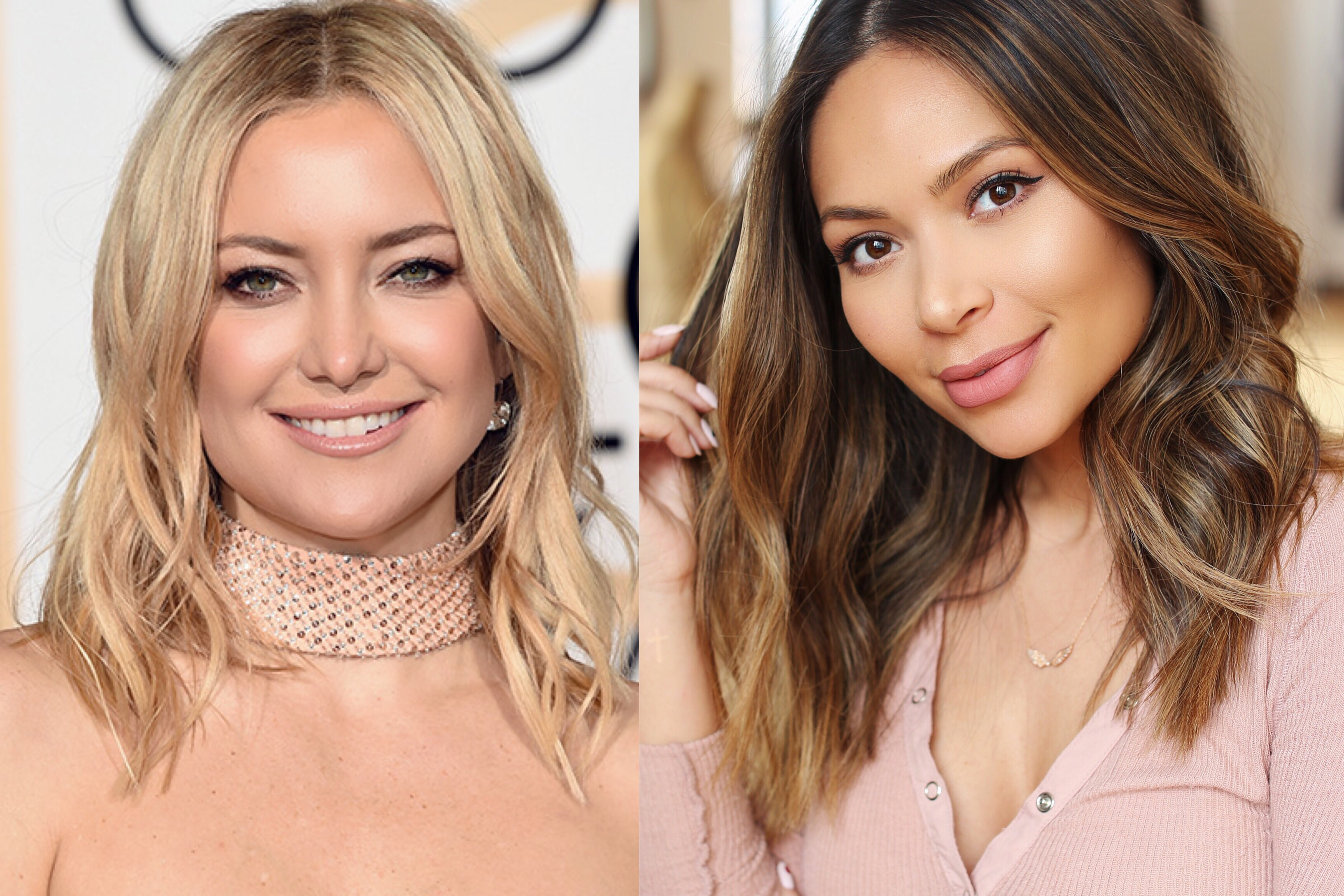 kate hudson golden globes 2016 hair tutorial life with me