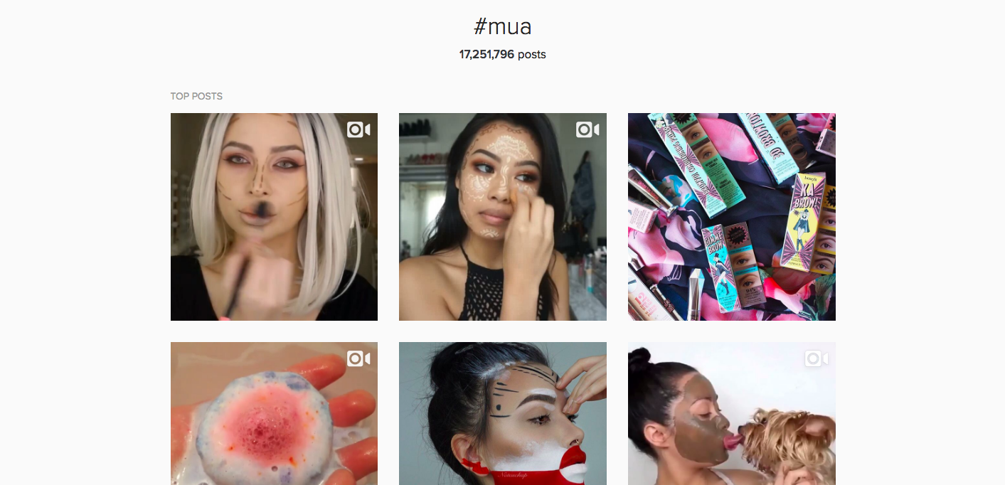 If you're a beauty enthusiast or an aspiring YouTuber, I recommend posting mini tutorials on Instagram to grow your audience. Whether it's a sped up full ...