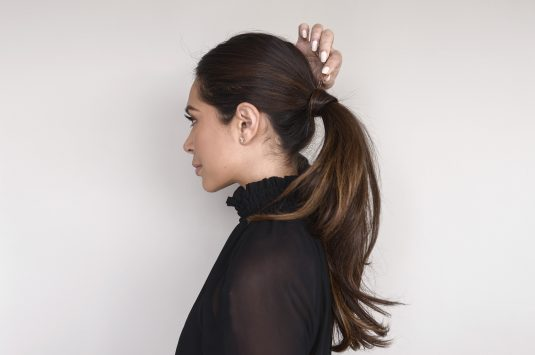 SIMPLE CHIC PONYTAIL TUTORIAL