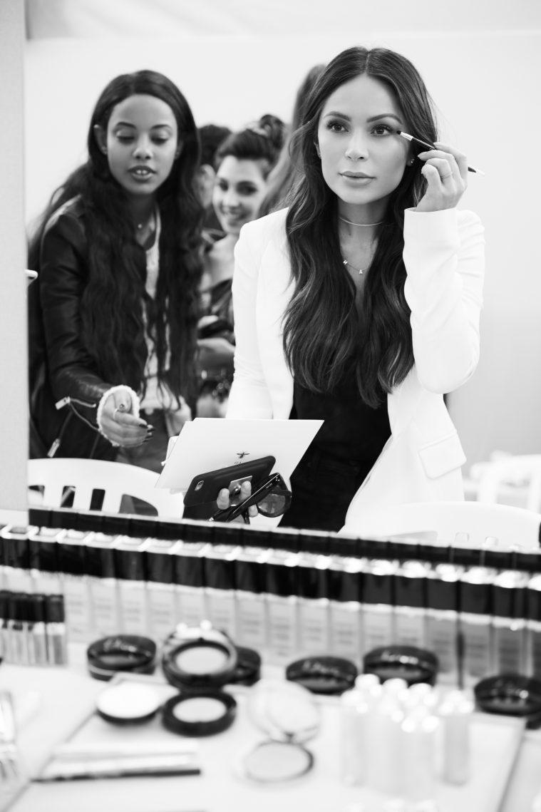 marianna hewitt fanny bourdette donon dior makeup paris fashion week backstage