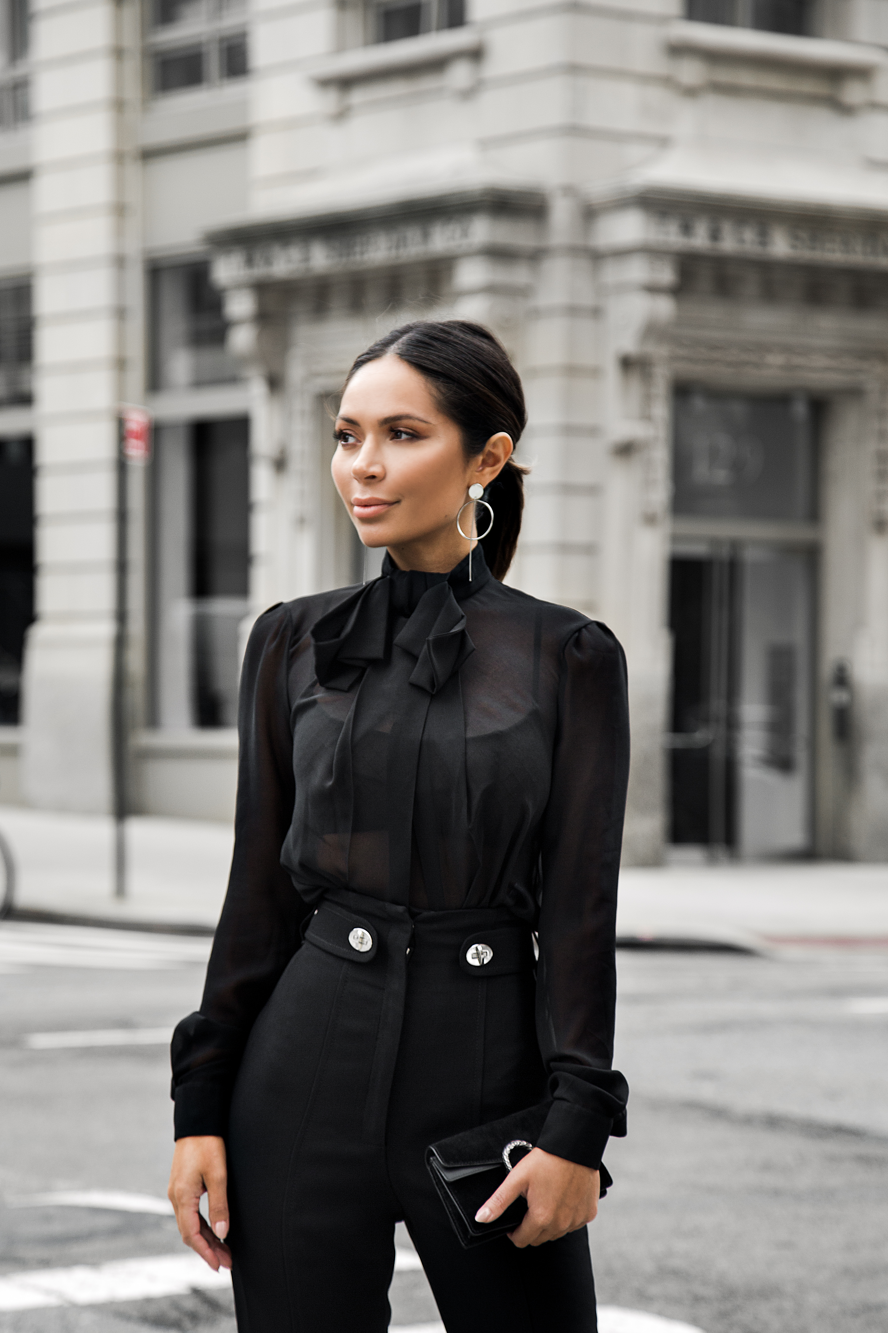marianna hewitt tom ford blogger blog street style New York fashion week nyfw September 2017