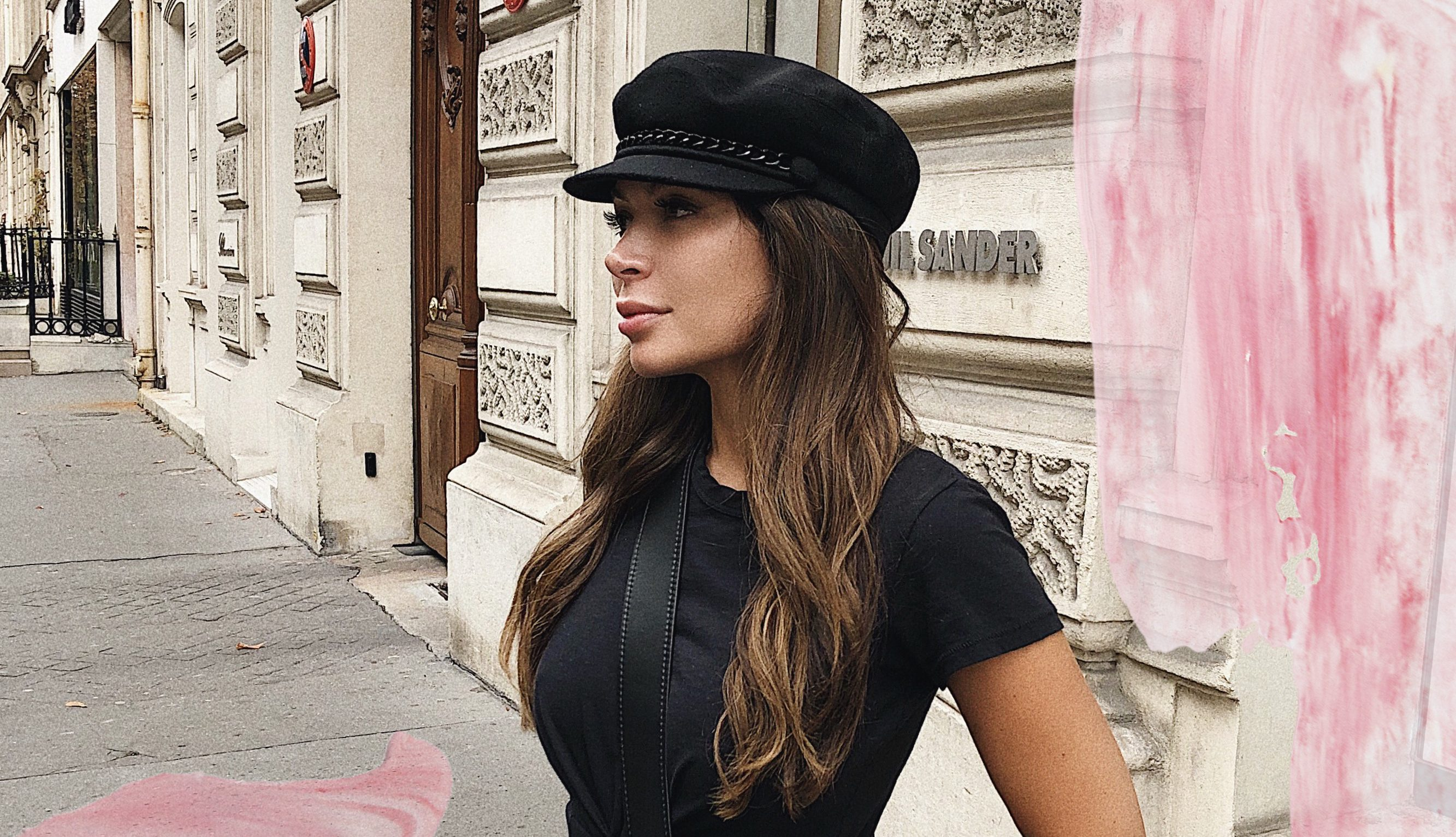 marianna hewitt news boy cap Paris fashion week trends blogger Eugenia Kim marina wool hat