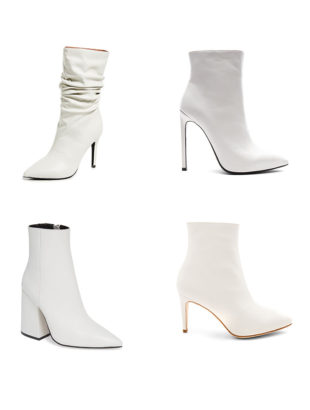 How to Wear White Boots This Spring