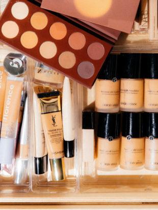 How I Organize My Makeup